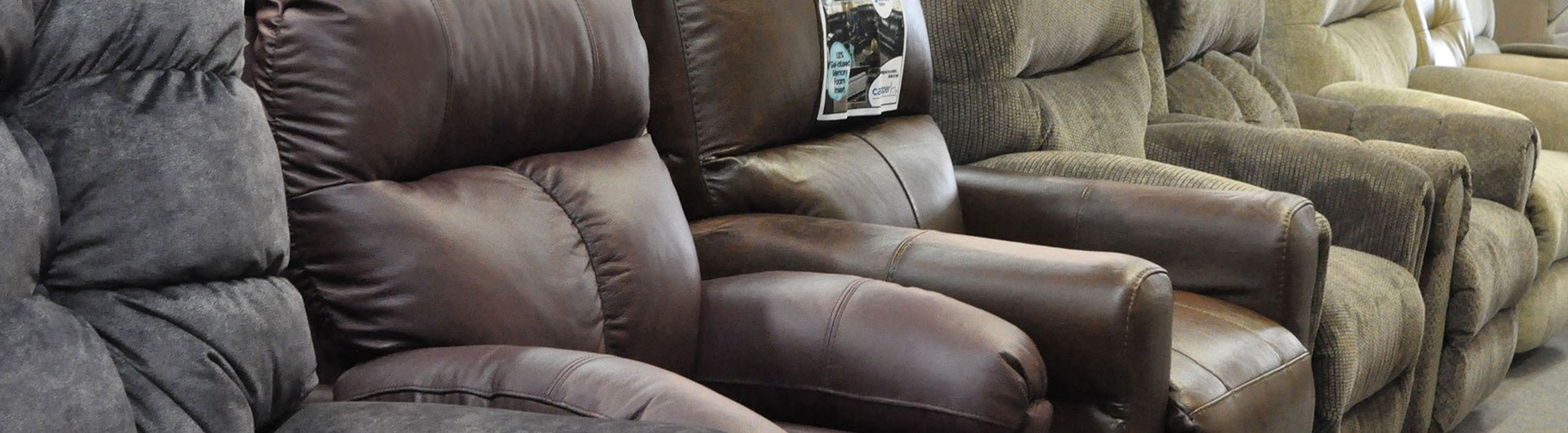 Becker Furniture Has A Wide Range Of Chairs And Recliners